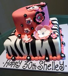 30th Birthday Cake by Cre8acake, via Flickr