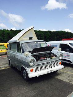 Ford Transit Caravan Van, Camper Van, Car Ford, Ford Trucks, Ford Transit Camper, Converted Vans, Classic Campers, Cool Vans, Old Fords