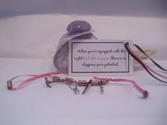 THIS IS A SAMPLE OF WHAT I CREATE! This kit contains a bookmark with tool charms, ribbon, beads, a gift box, and business card with catch phrase. Cold Calling, Attraction, Business Cards, Stuff To Do, Charms, Ribbon, Kit, Beads, Create