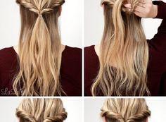 Topsy Fishtail Braid Tutorial Wir haben eine neue Frisur für unser Design, wo das elegante und wunderschöne Modelle hinzugefügt. Eine solche Frisur mit verschiedenen und jetzt werden Sie das Recht …