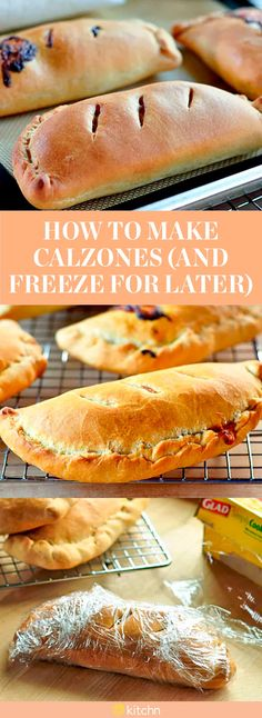 You've always gone to the nearest pizza shop in town to grab yourself a calzone, but have you ever tried making one of these cheese-filled bread pies at home? Well, we're here to show you how to do it. This calzone recipe also shows you how to freeze them for later, so you can relive the deliciousness again. To make these make-ahead calzones, you'll need pizza dough, any combination of cooked meat, cooked veggies, and cheese and olive oil or melted butter.