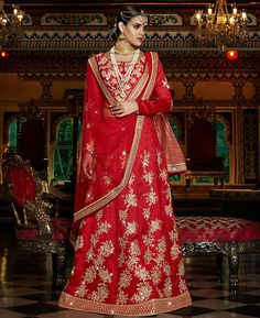 Buy Sightly Red Lehenga Choli online at  https://www.a1designerwear.com/sightly-red-lehenga-choli-10  Price: $120.74 USD