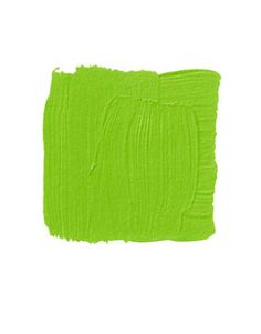 """BENJAMIN MOORE DOUGLAS FIR 2028-20: """"This is a Palm Beach green, very strong and vibrant with a shot of yellow in it. It takes me back to the '60s and '70s"""