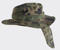 Helikon Boonie hat Neck Protector – Polish Woodland