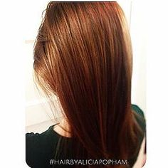 CINNAMON. HAIR BY ALICIA POPHAM IN CORVALLIS OREGON