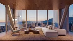 """The building will include 18 Observatory Residences located in its cantilevered sections. """"My vision for Fifteen Fifteen was to forge an immersive three-dimensional connection between nature, urban living and personal space,"""" said studio founder Ole Scheeren."""