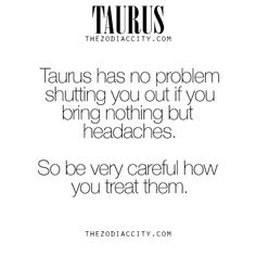 """zodiaccity: """" Zodiac Taurus Facts. For more information on the zodiac signs, click here. """""""