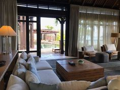 Mauritius, St. Regis Villa Mauritius, Villa, Curtains, Home Decor, Luxury, Vacations, Blinds, Interior Design, Draping