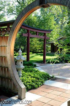 Cute Garden design embraces Asian serenity