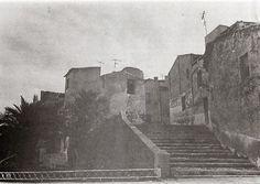 Escaleras del Castillo por la ermita de San Antón.