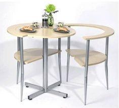 Оригинальный стол для любителей завтраков на двоих
