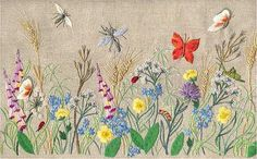 Breath of Spring – French Needlework Kits, Cross Stitch, Embroidery, Sophie Digard – The French Needle