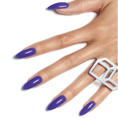 The CND New Wave collection is unapologetic and bold. Dare to try Video Violet on your next manicure.