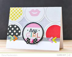 Hey Girl - Studio Calico Cuppa Kits by pixnglue - Cards and Paper Crafts at Splitcoaststampers