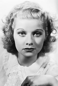 Lucille Ball in a promotional photo for Too Many Girls (1940). Photo by Ernest A. Bachrach