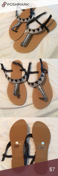 Spotted while shopping on Poshmark: Charlottee Russe Sandals! #poshmark #fashion #shopping #style #Charlotte Russe #Shoes