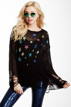 Wildfox Couture Nighttime Lennon Sweater by WILDFOX on @nordstrom_rack