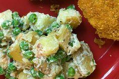 Potato Salad with Peas and Mint - add kumara
