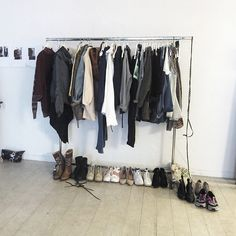 Prepping for our new editorial Wardrobe Rack, Prepping, Editorial, Instagram