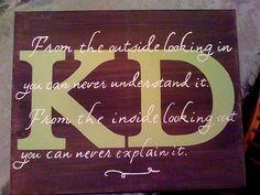Kappa Delta Sorority Canvas by The Cake Chic, via Flickr