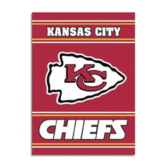Kansas City Chiefs NFL 2-Sided Banner (28 x 40)