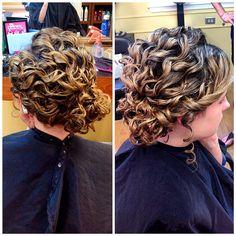 #curls #curlingwand #updo #enzomilano #hairtrends #hairstyle #krissorbie #samvilla #redken #modrensalon #behindthechair #formalhair #prom #hairstylist