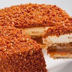 Torta Crocante Branca ( MQ ) por R$64,00