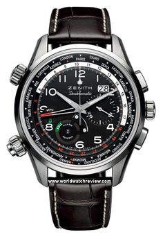 Zenith Pilot Doublematic World Timer Automatic