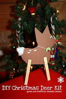 green owl crafts: {what a deer} DIY Kid's Craft Reindeer