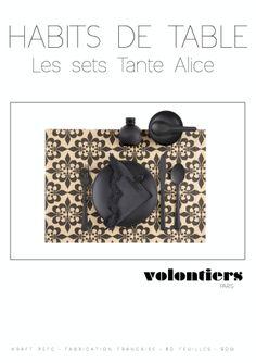 Habits de table VOLONTIERS Tante Alice-pollypapierleblog