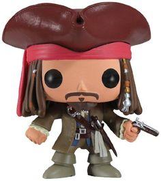Funko POP Disney Series 4 Jack Sparrow Vinyl Figure