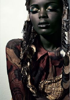 Happy Black History Month: She's cute. for a dark-skinned girl Happy Black History Month: She's cute. for a dark-skinned girl . Afro Punk, Dark Beauty, Ebony Beauty, African Beauty, African Fashion, Beauty Photography, Fashion Photography, Black Girl Magic, Black Girls