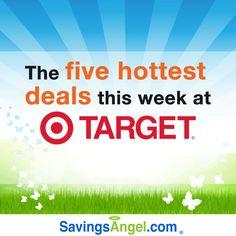 Spend less than $20 on the 6 hottest #Target #deals this week! http://savingsangel.com/blog/2016/06/27/spend-less-20-6-hottest-target-deals-week/ #extremecouponing #grocery