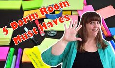 Here are 5 MUST HAVE items that will help keep any dorm room organized. Dorm Room Organization, Organizing, Helping Children, Must Haves, Dorm Organization, Bedroom Organization, Dorm Room, Diy Dorm Room
