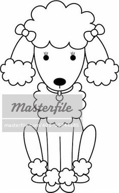 Poodle Template Printable Gallery Design Free Download