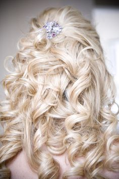 My wedding hair.
