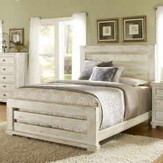 Distressed White Bedroom Set http://coastersfurniture.org/shabby-chic-furniture/distressed-furniture/