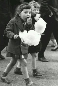 Sticky fingers and faces,but love the Candy Floss.