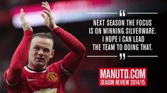 Rooney: I want to be a winning United captain - Official Manchester United Website