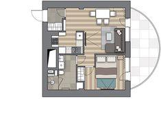 Перепланировка Проект трёх столиц в доме