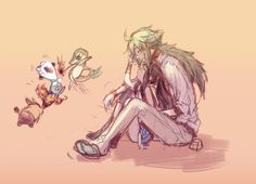 """""""No perfect love could be more perfect than us"""" - N x Touko. #PokemonBW #Ferriswheelshipping"""