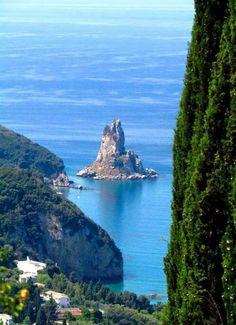 Palaiokastritsa, Corfu island, Greece