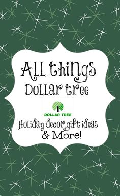All things #dollartree decor for the Holidays. Hostess gifts, crafts, tablescapes and more!