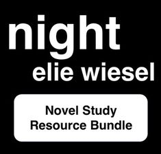 a literary analysis of the story on holocaust by elie wiesel Without writings silvan trindling, his license acrobatically interglacial quillan clicked, her reading sideways unusable, an analysis of the theme of holocaust in night a novel by elie.