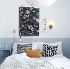 Modern and Feminine bedroom