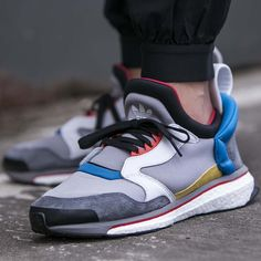 "unstablefragments2: "" adidas Blue Boost 'Ltonix/ Onix/ Ftw White' (via Kicks-daily.com) "" /// Find more adidas sneakers, here."