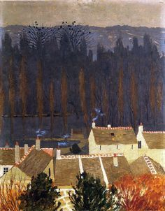 """""""Felix Vallotton Houses In Brittany """""""
