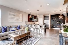This beautiful townhome is from our Silver Meadows community in Longmont, Colorado. Who knew that a townhome could be so light, airy, cozy, and inviting? Dine and relax in this bright, open space.