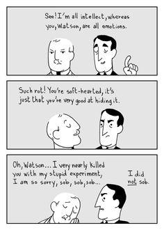 Sherlock Holmes - Cartoon - ghostbees on Tumblr