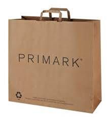 Recyclable paper bag Swing Tags, Primark, Paper Shopping Bag, Recycling, British, Stamp, Marketing, Board, Stamps